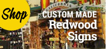 shop redwood signs